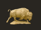 American Buffalo - Maquette for monument