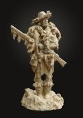 Mountain Man (clay)