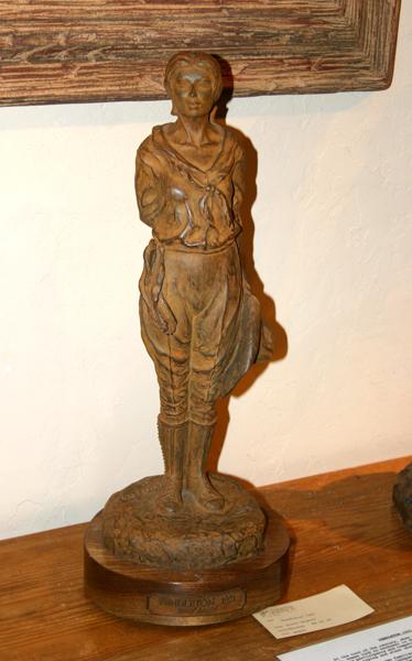 """Pendleton 1921 Maquette"""