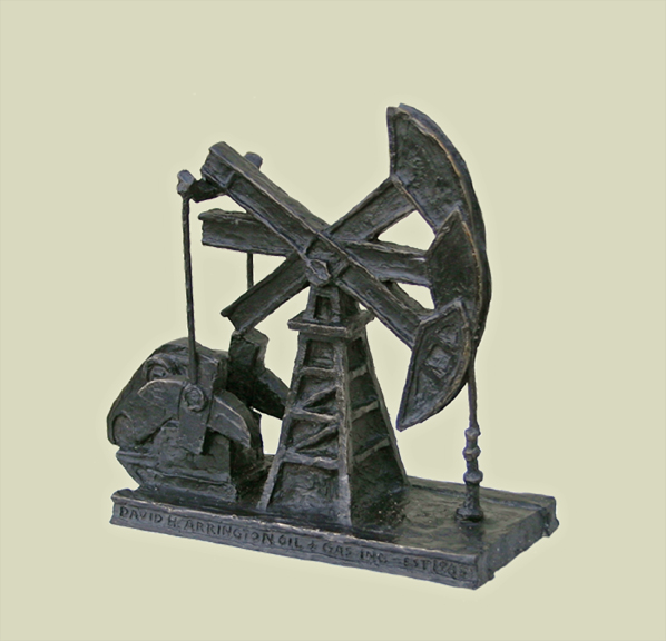 Pump Jack Award (not for sale)