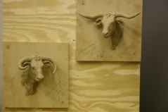 Steer Heads (wall mounts)