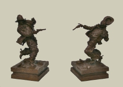 The Law Remembers / Fate Has Been Suffered (in bronze)