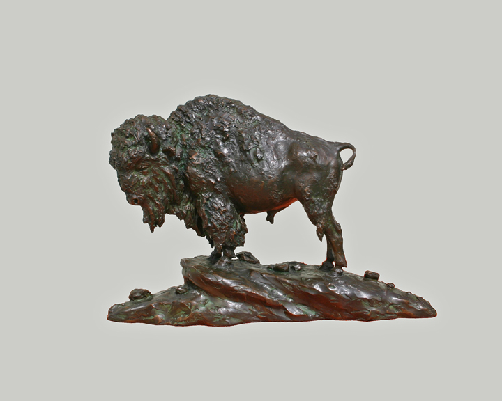 "Yellowstone Bison - 21"" long"