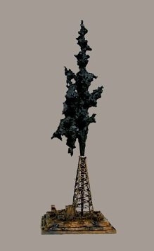 "A Rank Wildcat (Bronze) 54"" High"